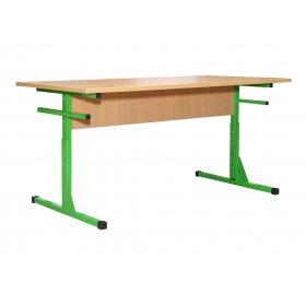 Стол для столовой прямоугольный 4-местный регулируемый