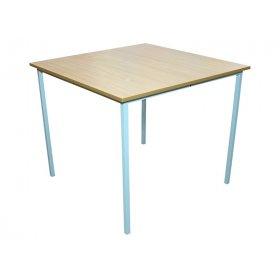 Стол для столовой квадратный 4-местный (квадратная труба)
