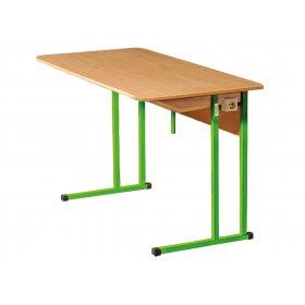 Стол лабораторный для кабинета физики №6 с двумя розетками