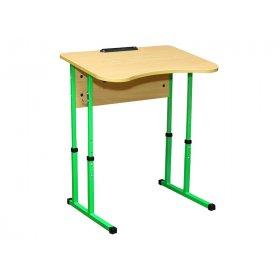 Стол ученический 1-местный без полочки №4-6