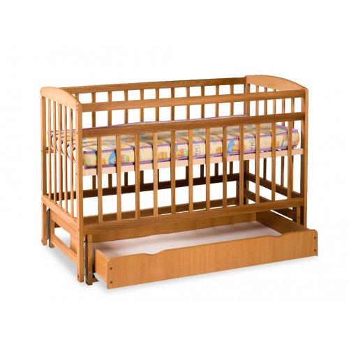 Кровать детская на шарнирах с ящиком