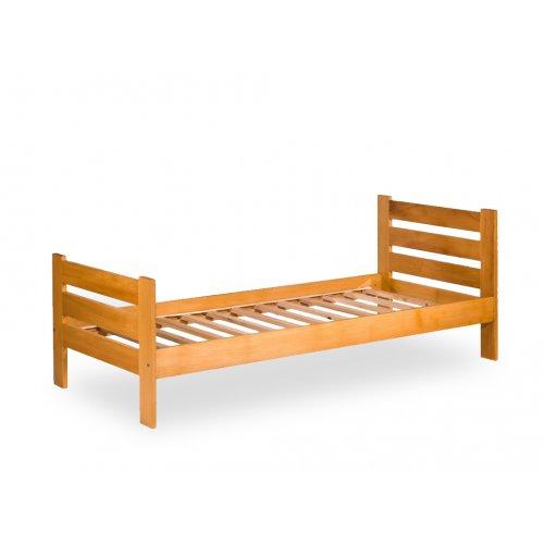Кровать односпальная (бук)