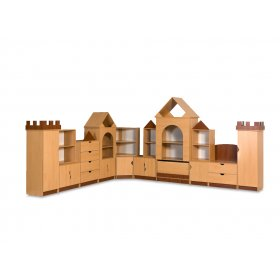 Стенка для игровой комнаты Замок