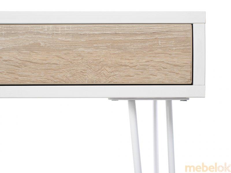 комп'ютерний стіл з виглядом в обстановці (Стіл Desk Pro 1500)