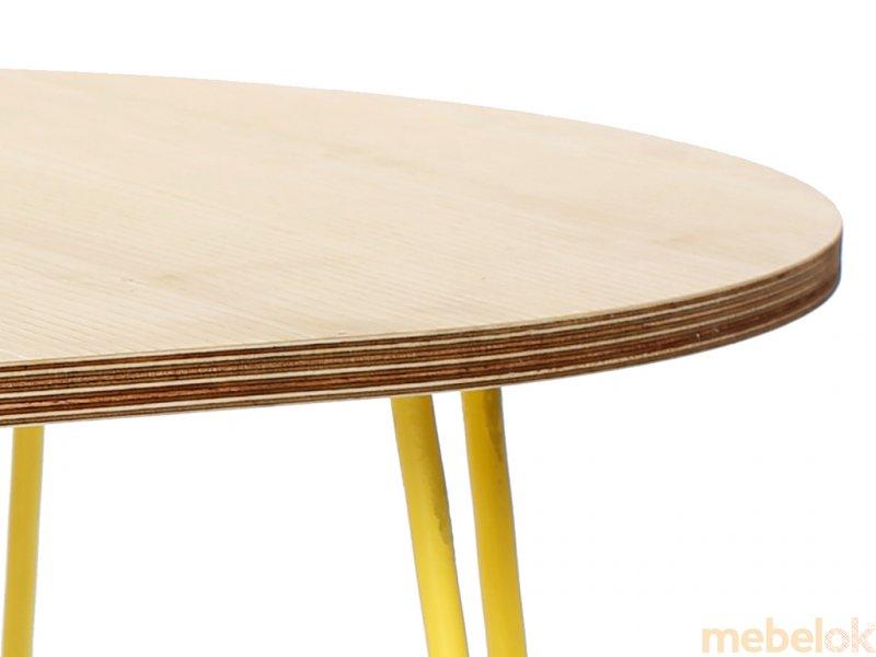 Стіл Oval Low 1500 від фабрики Hairpinlegs UA