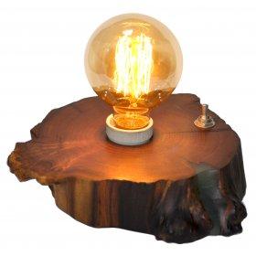 Настольная лампа Woodlamp Retro