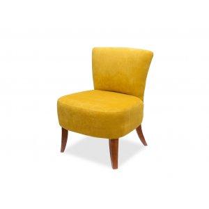 Кресло Квадро 1 желтое