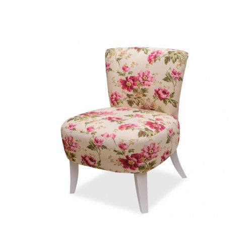 Кресло Квадро 1 цветочный принт
