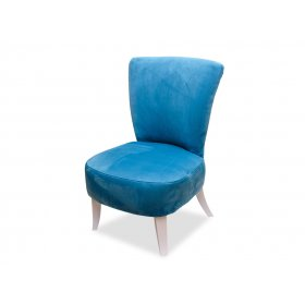 Кресло Квадро 2 голубое