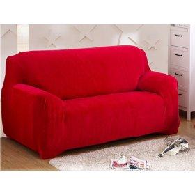 Чехол на трехместный диван HomyTex 195х230 красный