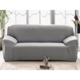 Чехол на двухместный диван HomyTex 145х185 серый
