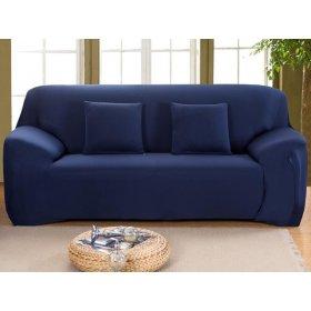 Чехол на двухместный диван HomyTex 145х185 синий