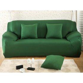 Чехол на двухместный диван HomyTex 145х185 зеленый