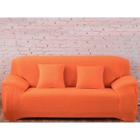 Чехол на трехместный диван HomyTex 195х230 оранжевый