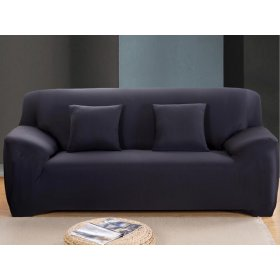 Чехол на трехместный диван HomyTex 195х230 черный