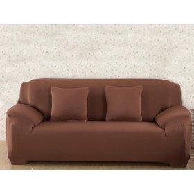 Чехол на двухместный диван HomyTex 145х185 кирпичный