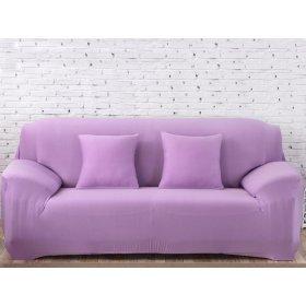 Чехол на трехместный диван HomyTex 195х230 лиловый