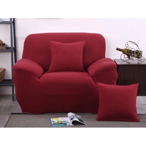Чехол на кресло универсальный HomyTex бордовый