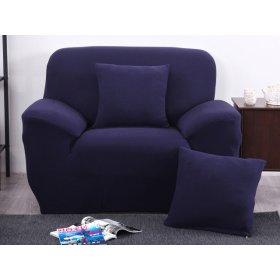 Декоративная наволочка HomyTex синяя
