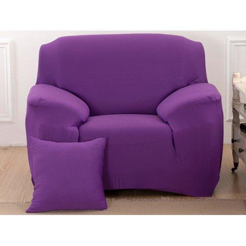 Чехол на кресло универсальный HomyTex сиреневый