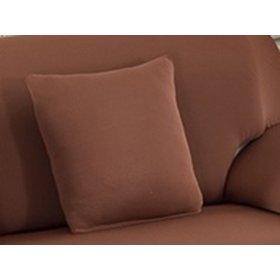 Декоративная наволочка HomyTex коричневая (кирпичная)