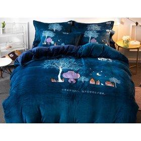 Постельное белье Night евро размер 200х230