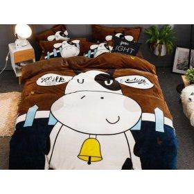 Постельное белье Big cow евро размер 200х230