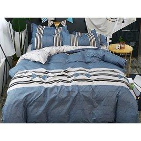 Полуторное постельное белье Blue lagoon 150х200