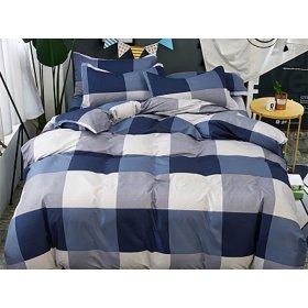 Полуторное постельное белье Blue lake 150х200