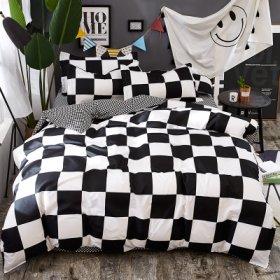 Полуторное постельное белье Dark life like chess 150х200