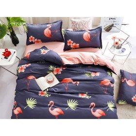 Полуторное постельное белье Flamingo 150х200