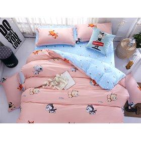 Полуторное постельное белье Puppy 150х200