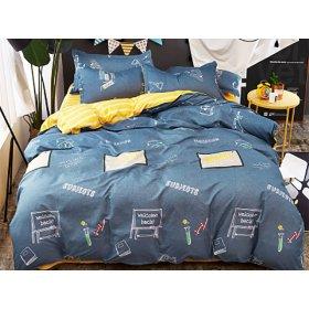 Двуспальный комплект постельного белья School 180х220