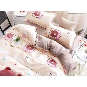 Полуторное постельное белье Teddy bear 150х200