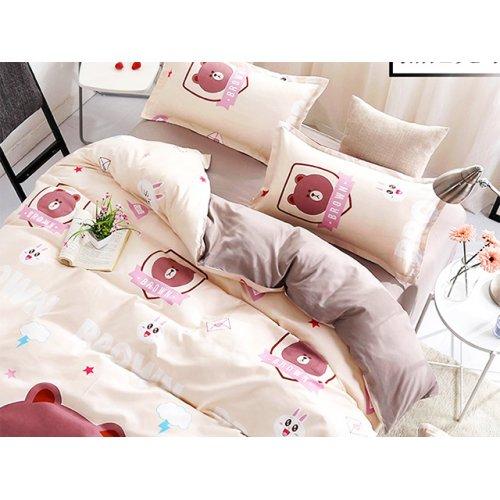 3fc845519d1b1f Двоспальний Євро комплект постільної білизни Teddy bear 200х230 ...
