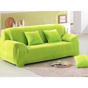 Чехол на трехместный диван HomyTex 195х230 салатовый