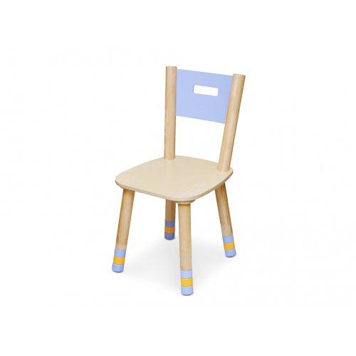 Детский стул индиго