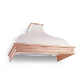 Вытяжка купольная с деревянным кантом Provence AV A/90 Neutral