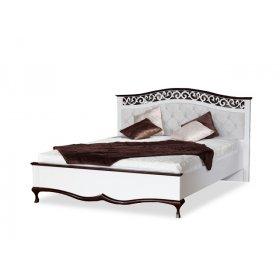 Кровать Персея с резным изголовьем 160х200