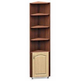Шкаф угловой с полочками и дверкой 1-20 ДСП