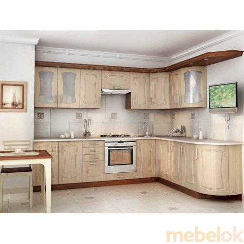 Зеркальное отображение - Комплект мебели для кухни 017