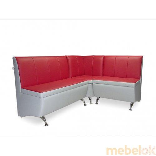 Зеркальное отображение - Кухонный угловой диван К-2