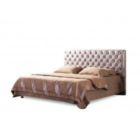 Двуспальная мягкая кровать Деко
