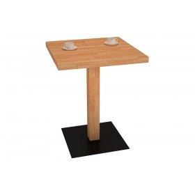 Столик для кафе 60х60х75 дуб