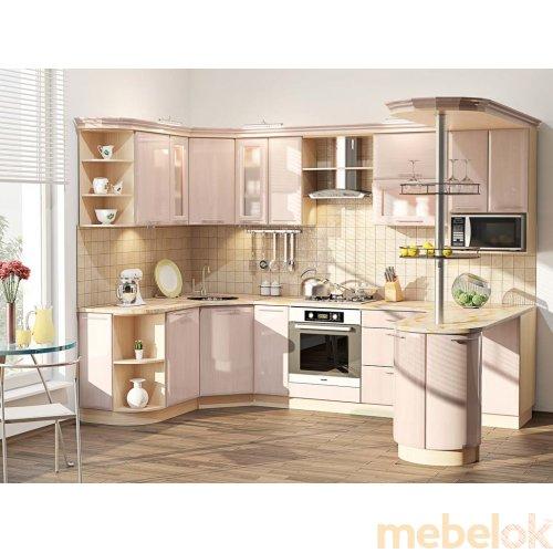 Зеркальное отображение - Кухня-103 Хай-тек 3,0х1,7 м