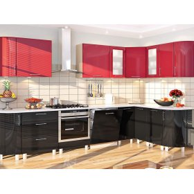 Кухня-166 Хай-тек 3,1х1,7 м