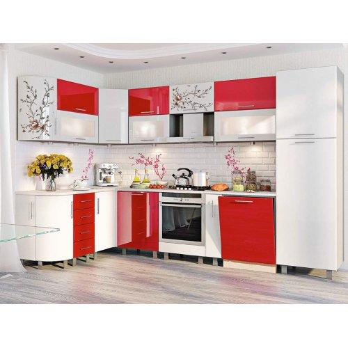 Кухня-169 Хай-тек 1,7х3,2 м