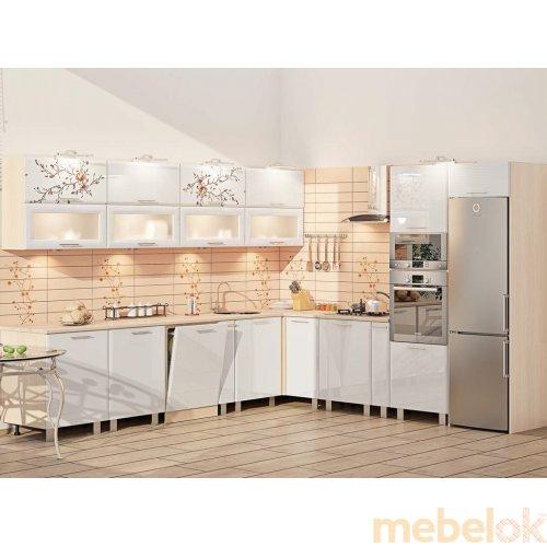 Зеркальное отображение - Кухня-170 Хай-тек 3,03х3,2 м