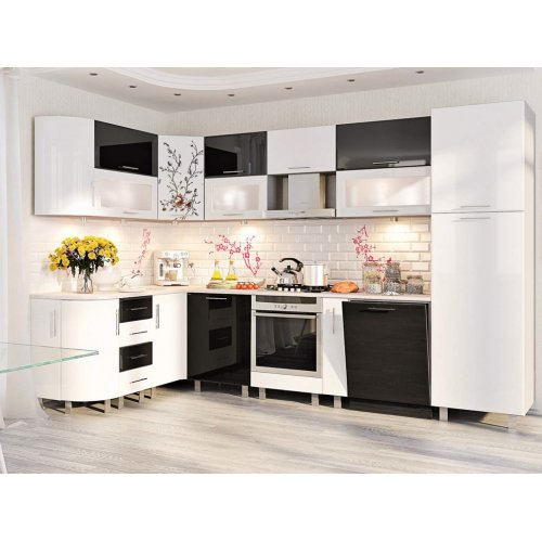 Кухня-172 Хай-тек 3,2х1,7 м