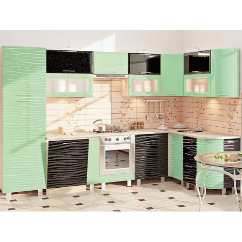 Кухня-174 Хай-тек 3,2х1,7 м